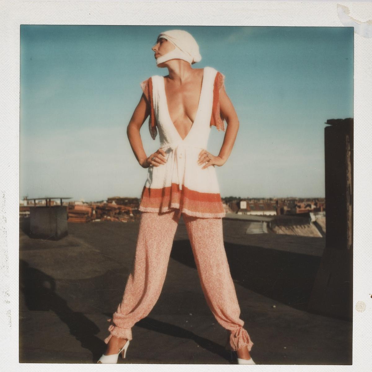 ohne Titel, Polaroid, ca. 1975,  Claudia Skoda