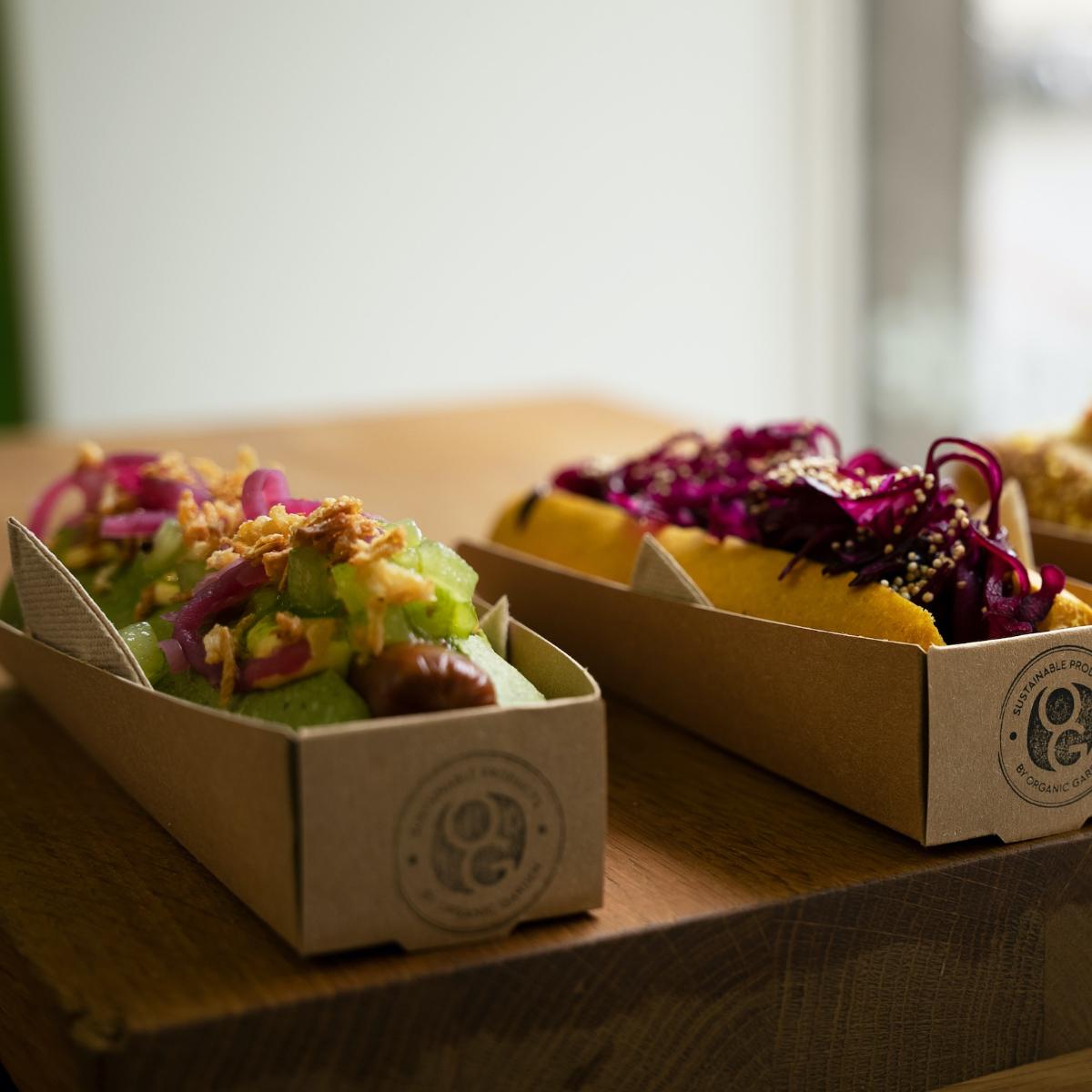 Organic Garden Gourmet Hotdog Muenchen
