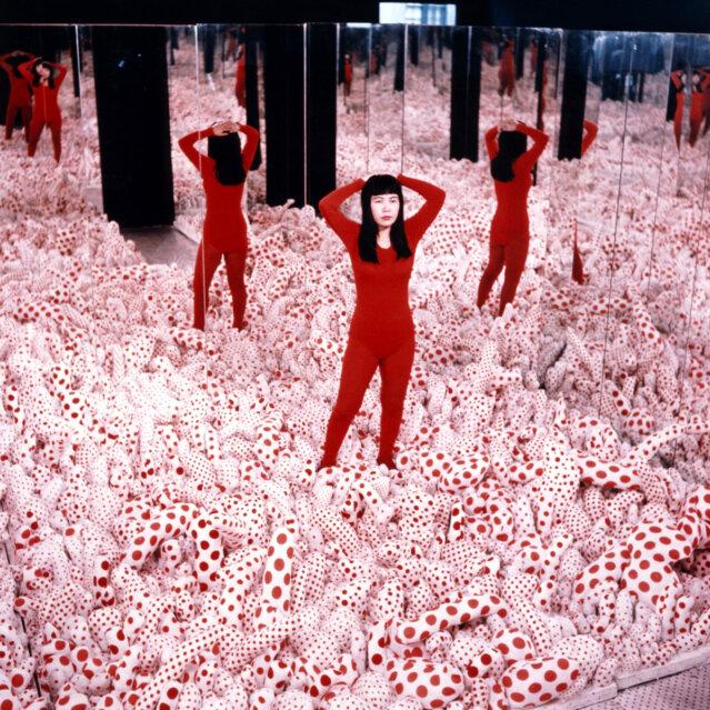 Yayoi Kusama, Infinity Mirror Room – Phalli's Field, 1965 Installation, Mixed Media