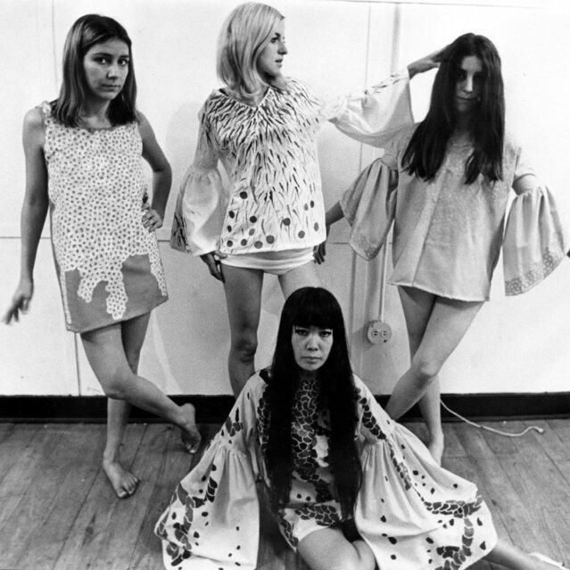 Yayoi Kusama, Kusama Fashion in ihrem Studio, New York, 1968