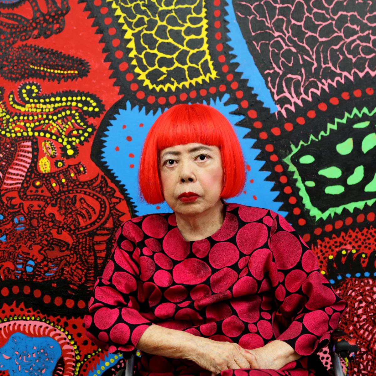 Yayoi Kusama, Portrait