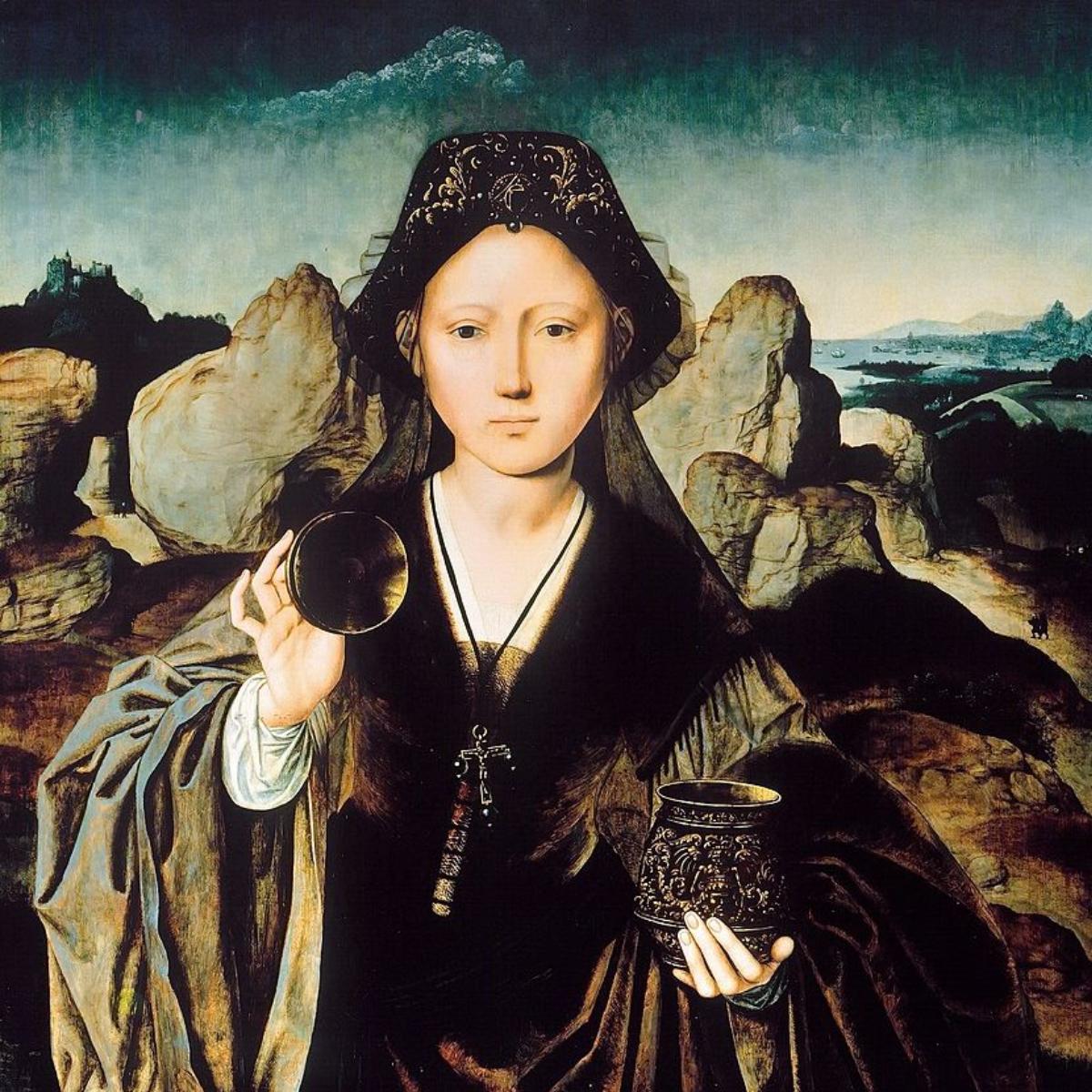 Meister der Mansi - Magdalena - Ste Maria Magdalena - 1525 - XVI th Jahrhundert - flmische Schule – Gemaeldegalerie – Berlin