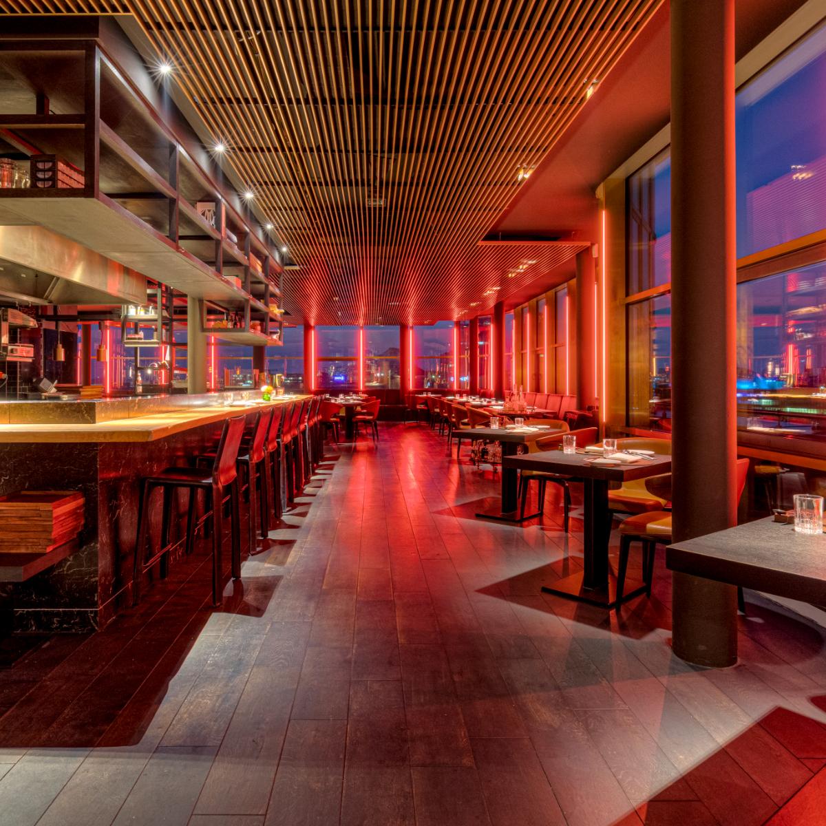 Restaurant Golvet Berlin Abendstimmung