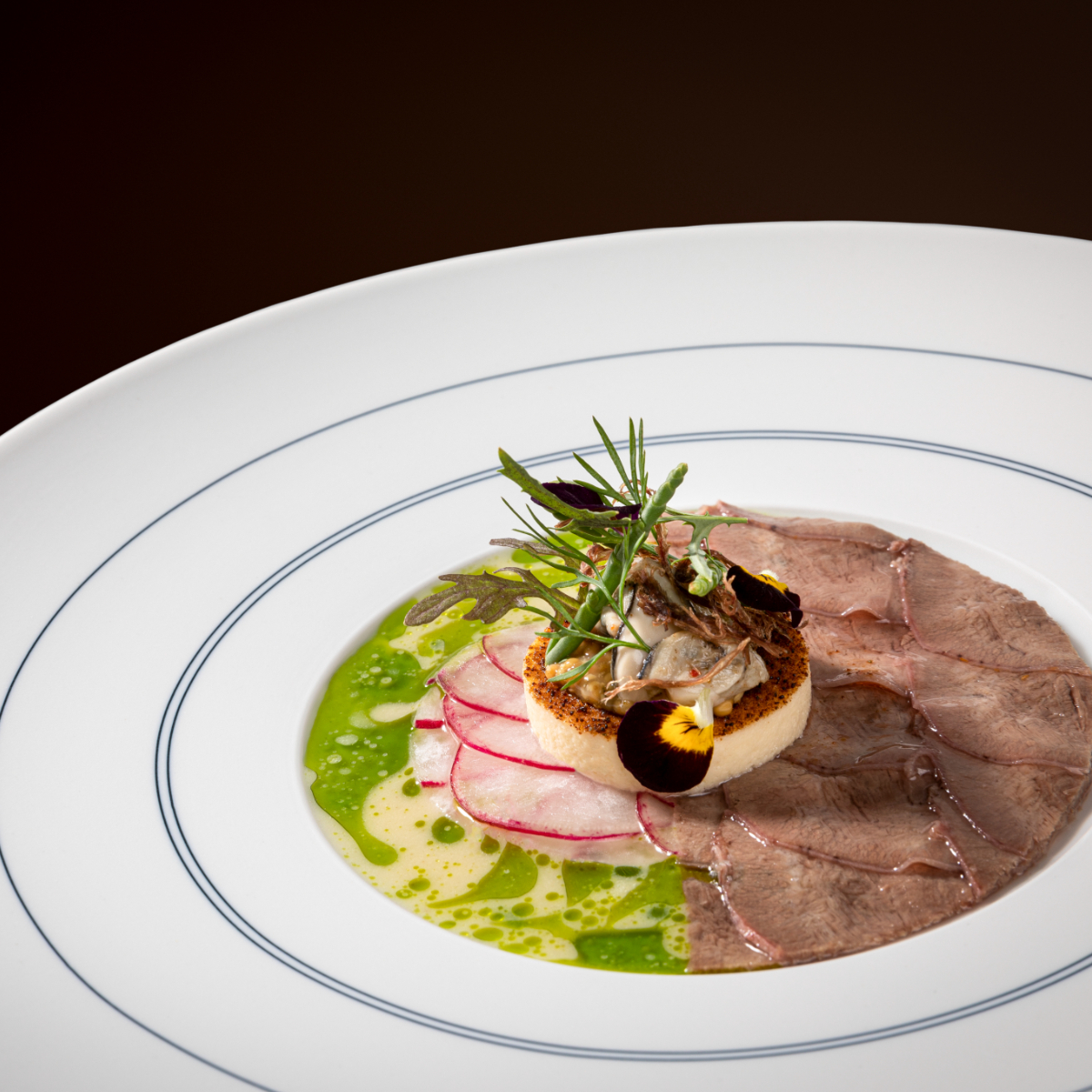 Restaurant Golvet Berlin Wagyu & Dill