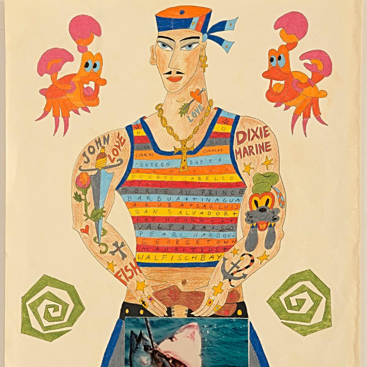 Tabea Blumenschein, Dixie Marine, 1995,  Townes  Shoko Kawaida  Harald Blumenschein