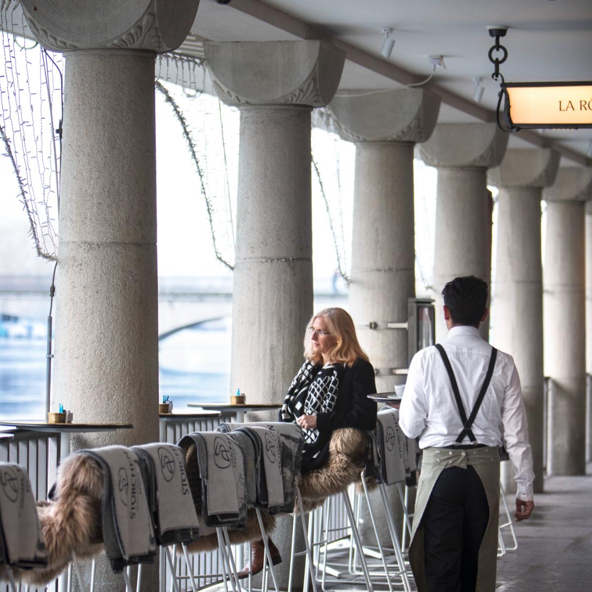 Barchetta Bar Zuerich an der Limmat