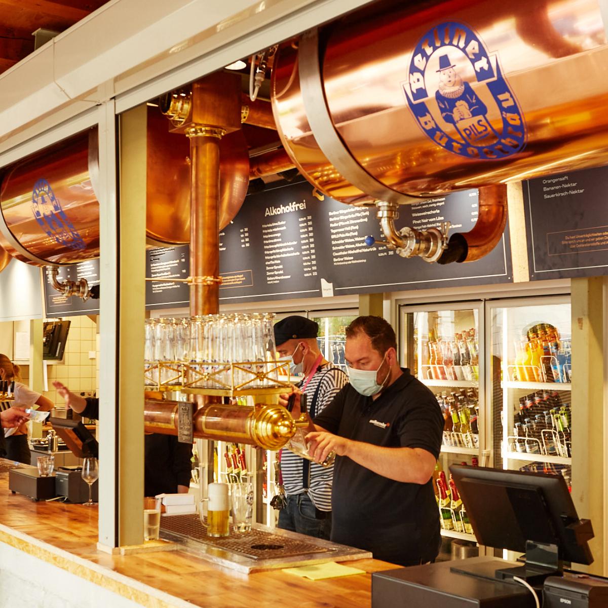 Bier- und Weingarten Berliner Buergerbraeu by Janek Grahmann