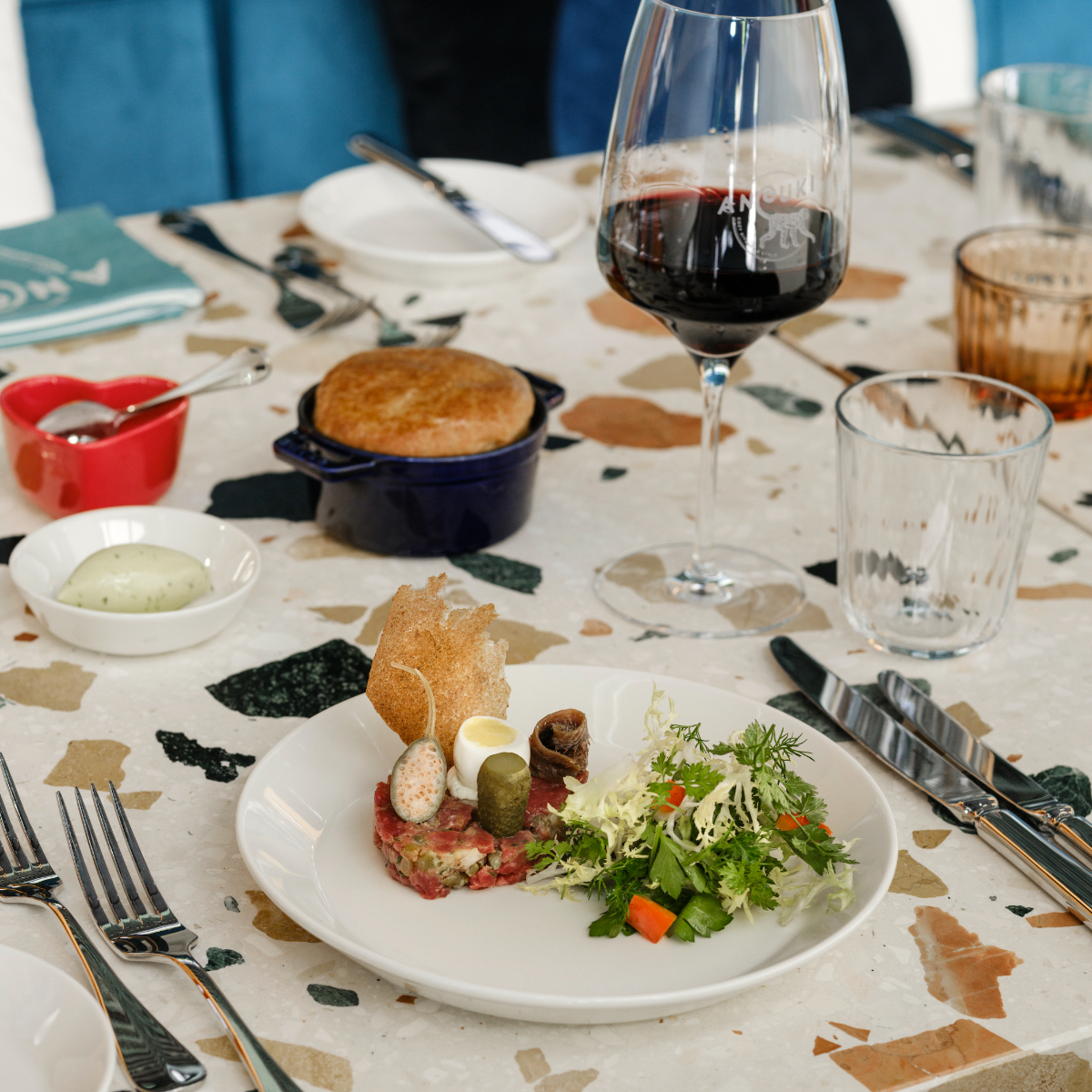 Restaurant Anouki Berlin Charlottenburg Tartar