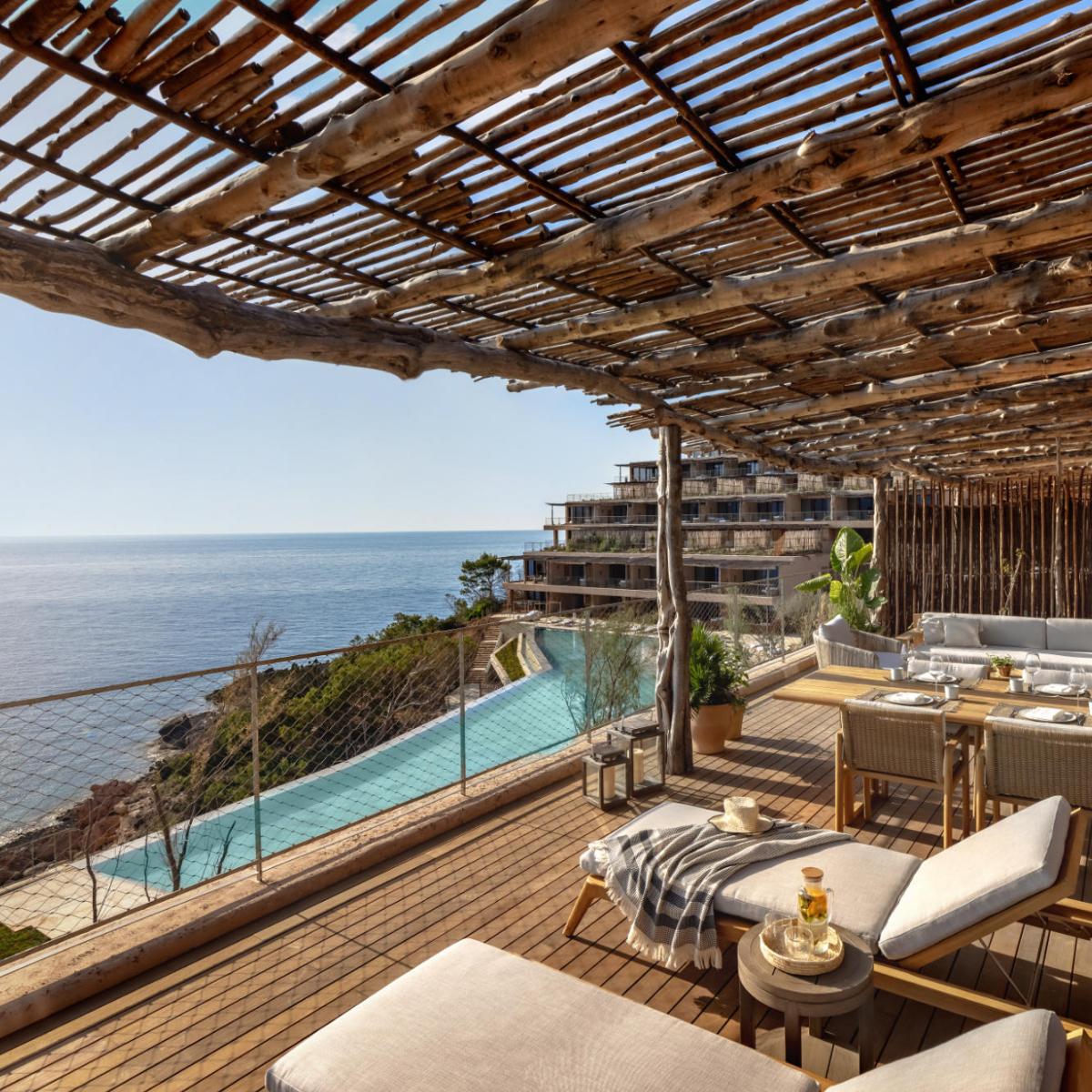 Six Senses Ibiza Terrasse