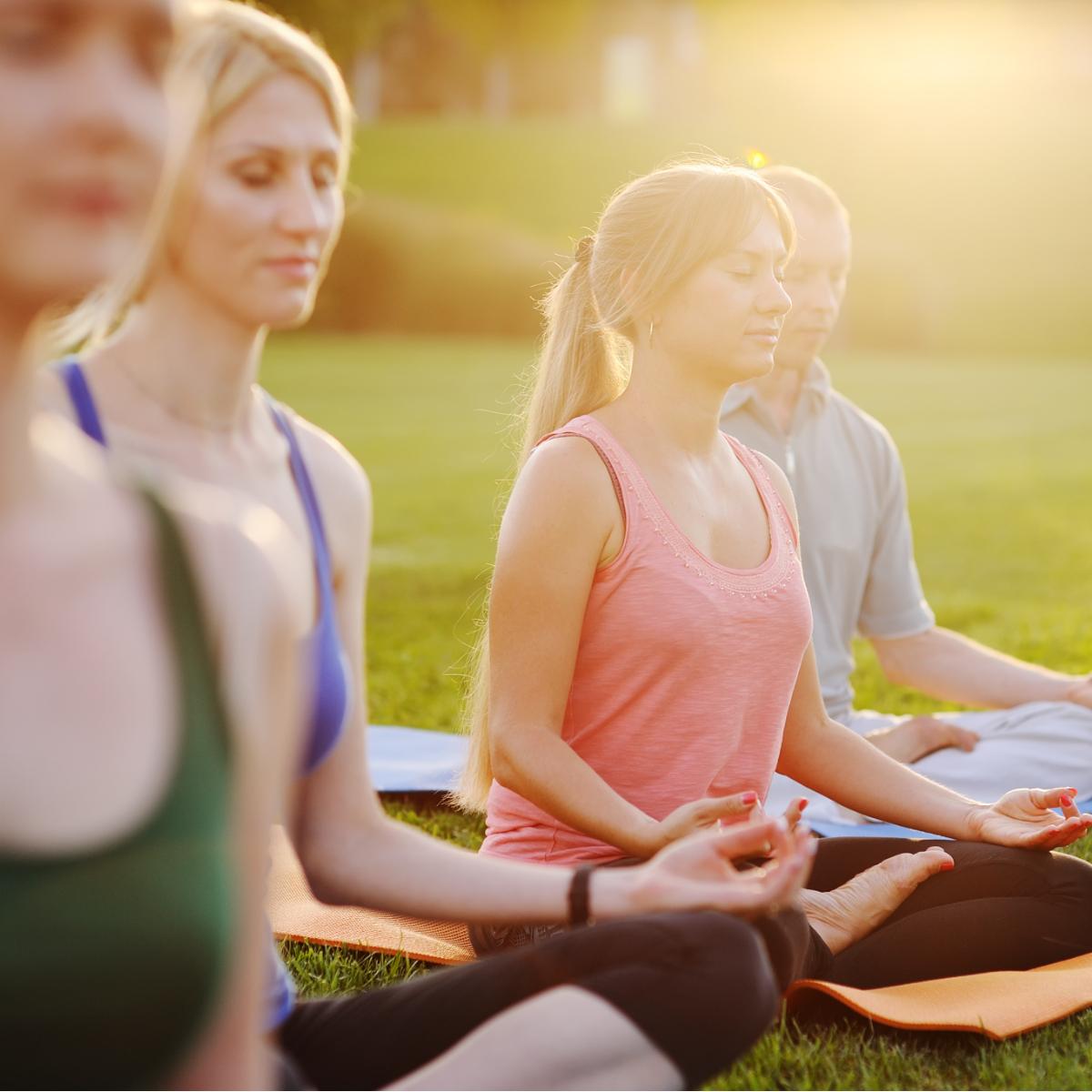 Urban Sports Club Yoga Outdoor