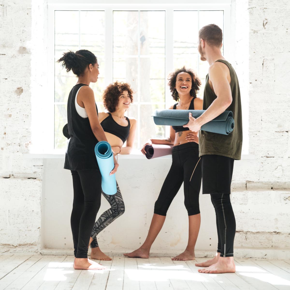 Urban Sports Club Yoga Studio Gruppe