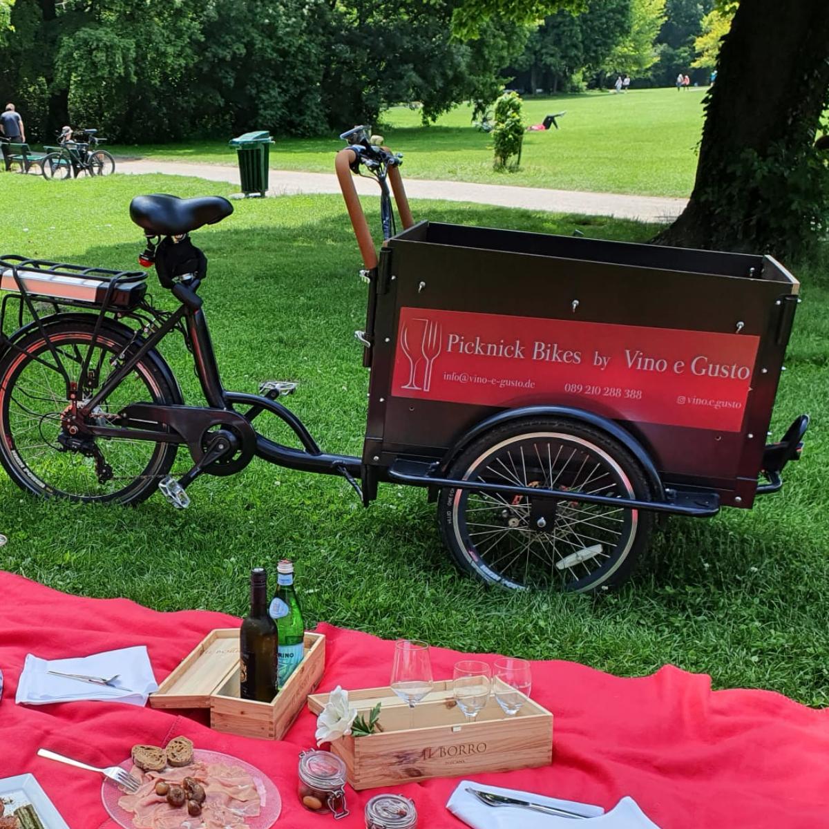 Vino e Gusto Picknick Bikes