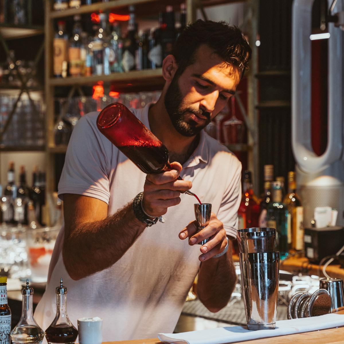 Casa Nostra Restaurant Barkeeper