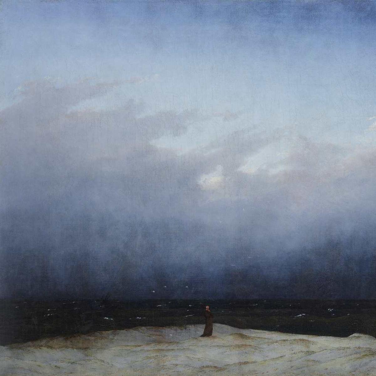 Caspar David Friedrich, The Monk by the Sea, 1808-10