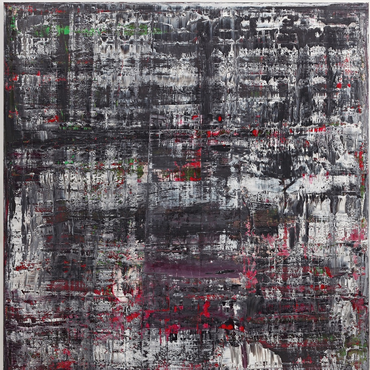 Gerhard Richter, Birkenau, 2014 l auf Leinwand, 260 x 200 cm GERHARD RICHTER KUNSTSTIFTUNG