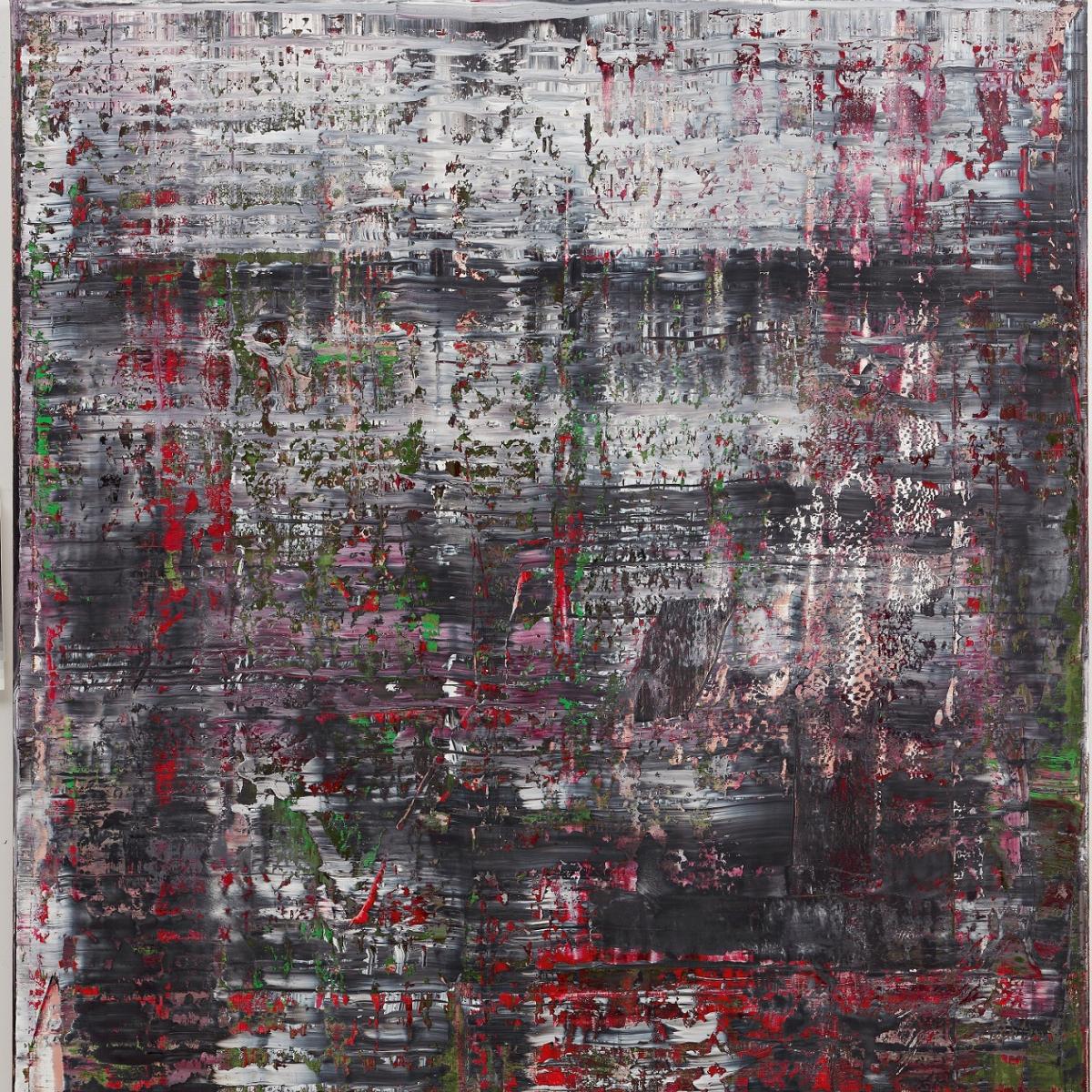 Gerhard Richter, Birkenau, 2014l auf Leinwand, 260 x 200 cm GERHARD RICHTER KUNSTSTIFTUNG