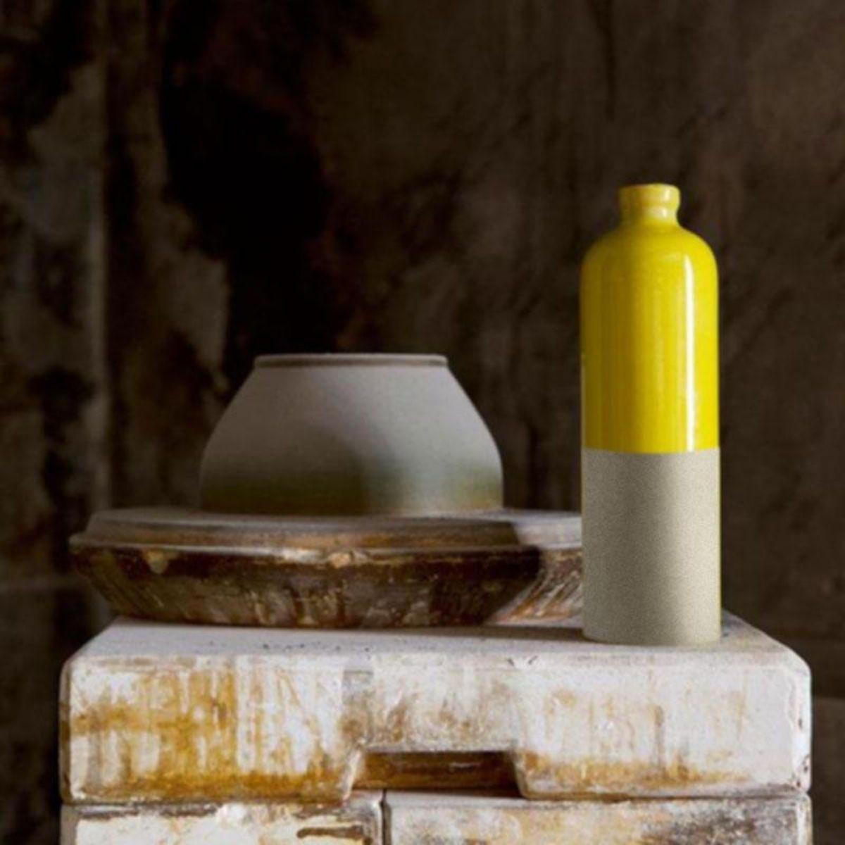 Gustavia Ölflasche Manufacture de Digoin