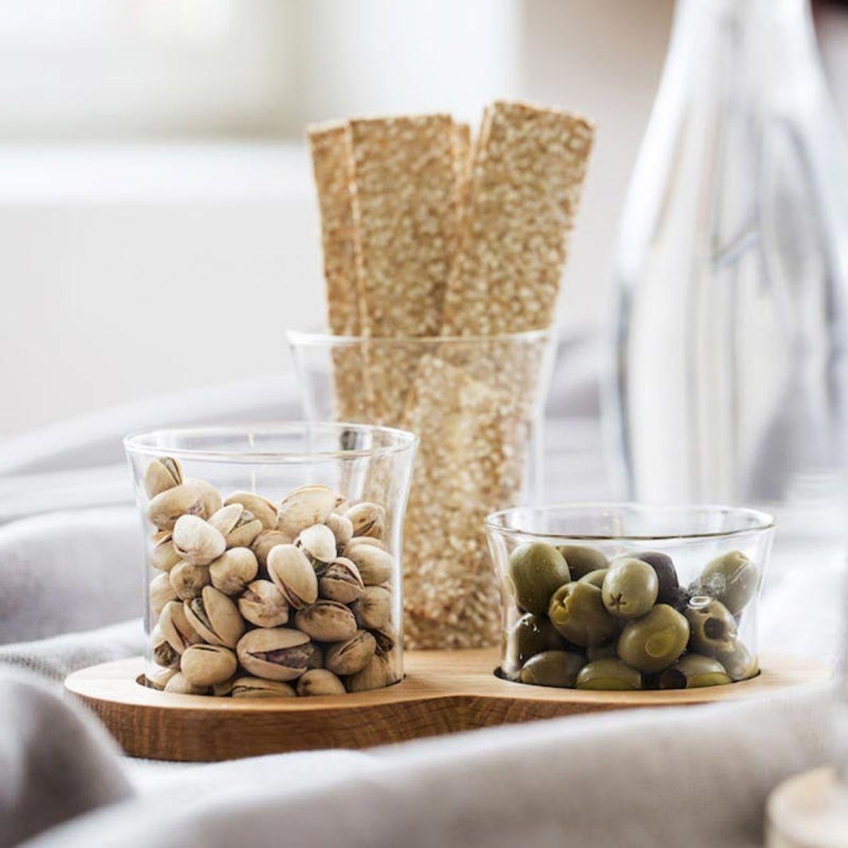 Gustavia Servierset für Snacks