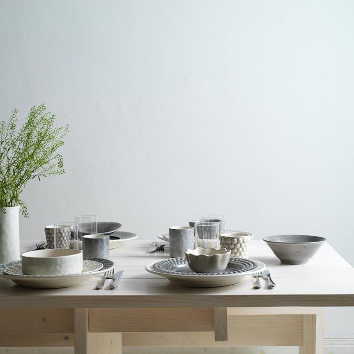 Gustavia Tisch gedeckt