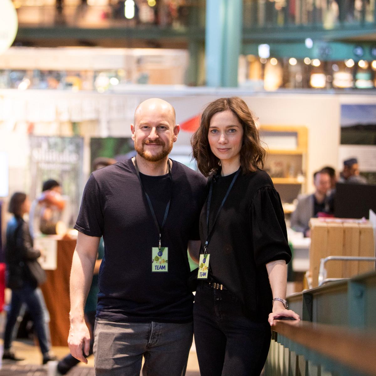 Michael Hetzinger und Alexandra Laubrinus im House of Food
