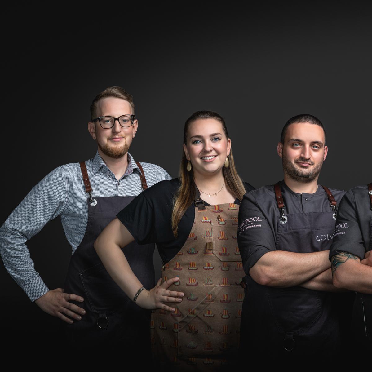 Team Restaurant Golvet Berlin