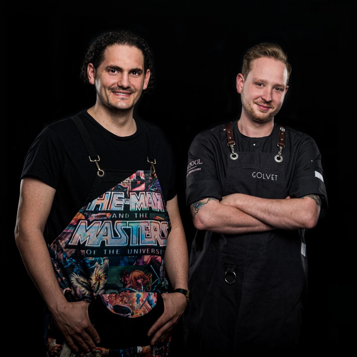 Team Restaurant Golvet Berlin Jonas Zoerner + Andreas Andricopolous