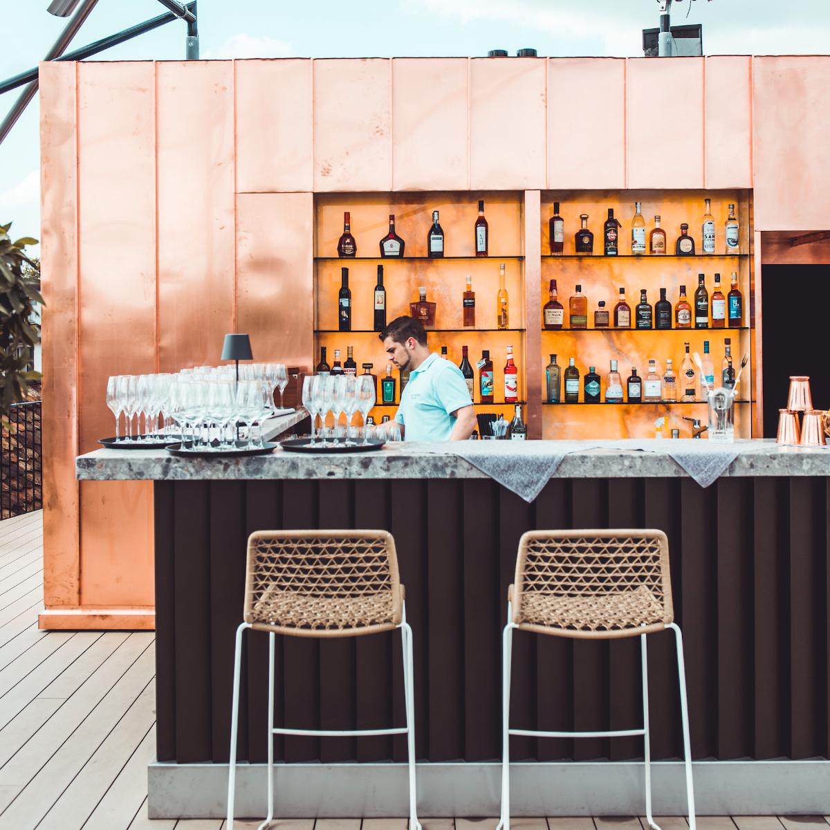 The Nest Rooftop-Bar Hotel Storchen Zuerich (3)