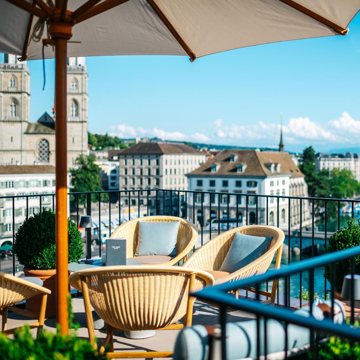 The Nest Rooftop-Bar Hotel Storchen Zuerich (5)