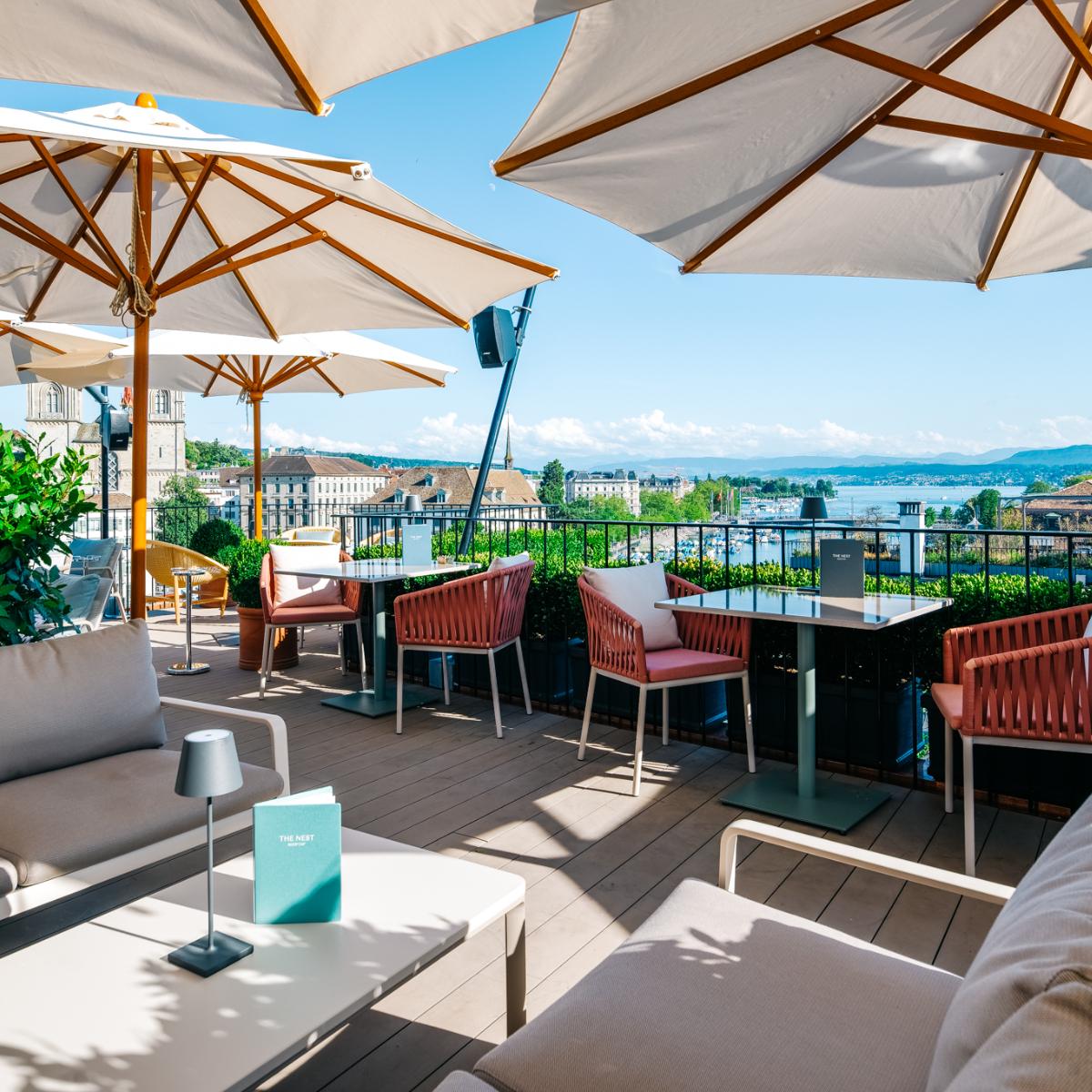 The Nest Rooftop-Bar Hotel Storchen Zuerich (6)