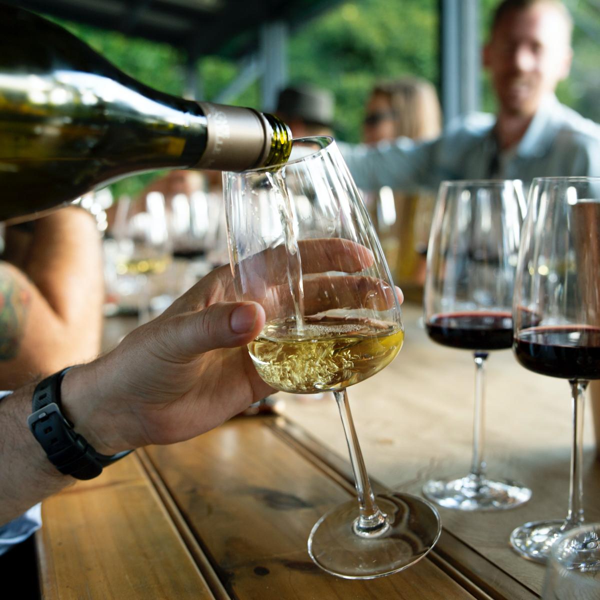 Weinfest Ausschank