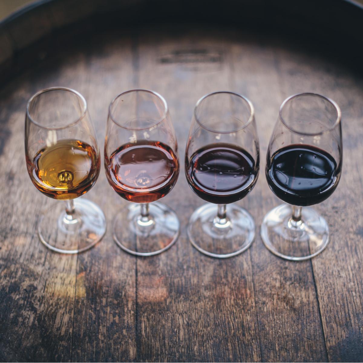 Weinglaeser Weinfest