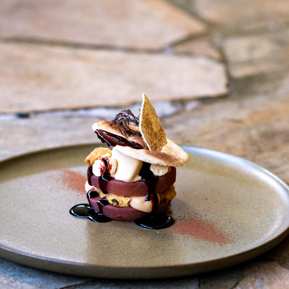 Tante Fichte Berlin Birne Dessert by Mischa Fanghaenel